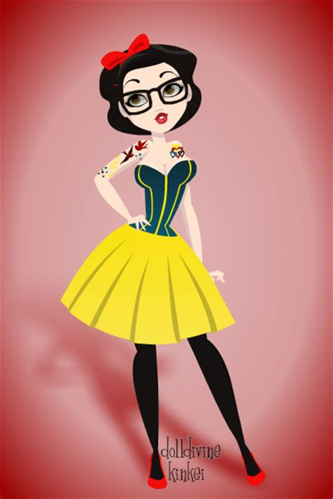 imagenes de blancanieves hipster hipster snow white pin up by cherriene on deviantart