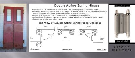 double swing hinge installation double action spring hinges for doors