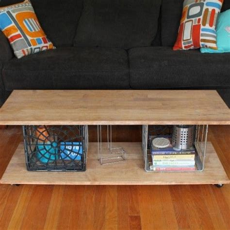 Cool Diy Coffee Table 1000 Ideas About Crate Coffee Tables On Wine