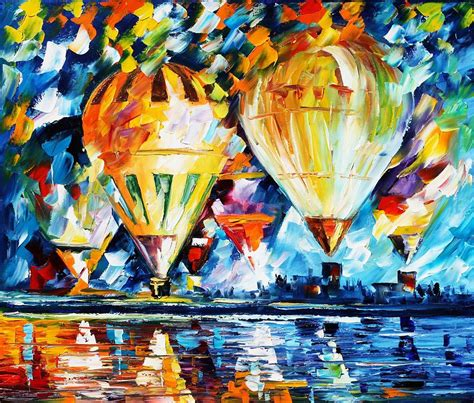 festival of painting balloon festival new painting by leonid afremov