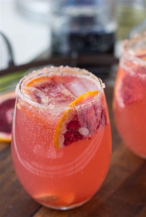 sparkling grapefruit cocktails blahnik baker