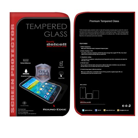 Tempered Glass Depan Delcell Oppo delcell tempered glass oppo r1 delcell