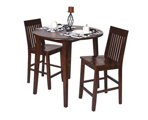 pub table for two 3 pc westbrook set pub table and two barstools bar