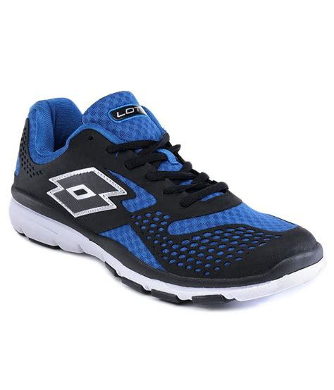 lotto sports shoes lotto college iv black royal blue sport shoes price in