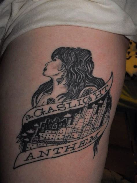 anthem tattoo gaslight anthem