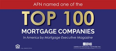 house loan companies accolades american financial network inc