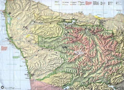 olympic national park map nationmaster maps of united states 1212 in total
