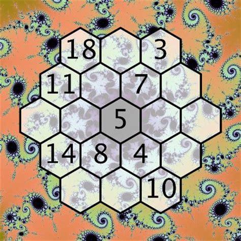 printable hexagon puzzle magic hexagon puzzle