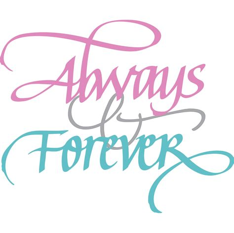 forever always quietfire creations always and forever