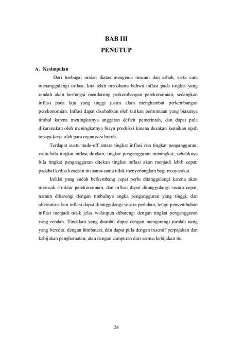 makalah pengangguran inflasi dan kebijakan pemerintah pengangguran inflasi dan kebijakan pemerintah mega