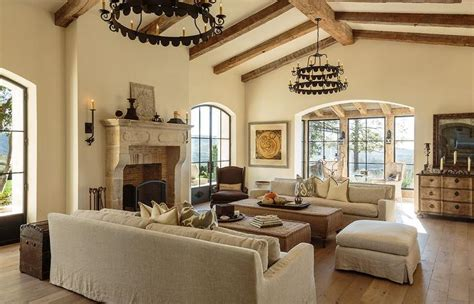 Mediterranean Living Room Cathedral Ceiling Design Ideas Cathedral Ceilings In Living Room