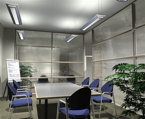 Meeting Room Chairs Design Ideas Small Office Meeting Room Design With Hanging Led L Lighting Fixtures With Rectangle Table