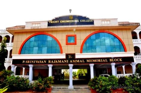Top Mba Colleges In Trichy by Trichy Engineering College Tec Trichy Faculty