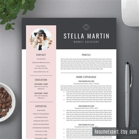 resume design template best 25 cv template ideas on creative cv