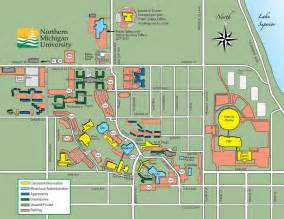 Eastern Michigan Campus Map by Maps Nmu Admissions