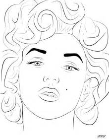 marilyn coloring pages free coloring pages of marylin