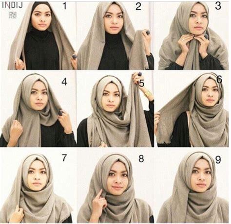 tutorial hijab kondangan modern tutorial hijab modern untuk kondangan