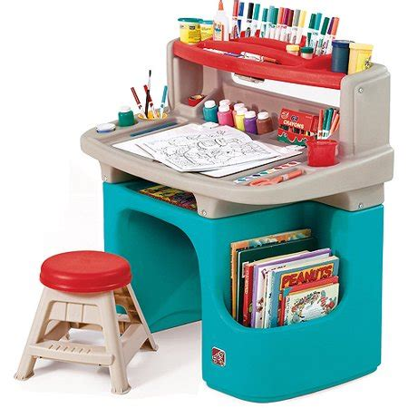 Step2 Master Desk And Stool by Step2 Toddler Master Desk And Stool Walmart