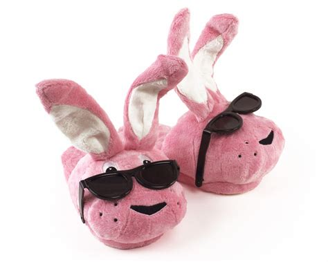 bunny slippers energizer bunny slippers pink bunny slippers