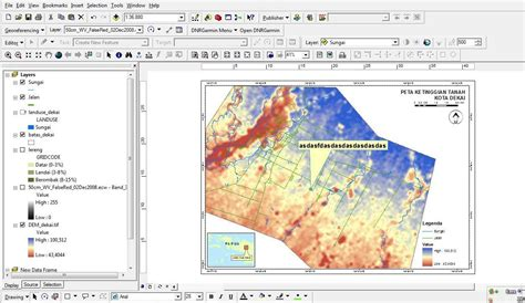 arcmap layout view page size creating automoved graphics and text in arcmap layout
