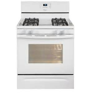 home depot gas range whirlpool 5 0 cu ft gas range with self cleaning oven in
