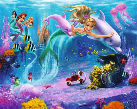 walltastic wall murals walltastic mermaids wall mural bubs n grubs
