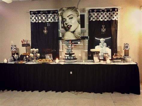 Marilyn Decorations by Marilyn Birthday Ideas Photo 16 Of 19