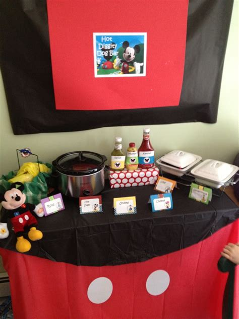 mickey mouse table mickey mouse birthday the table cloth idea birthday ideas dogs