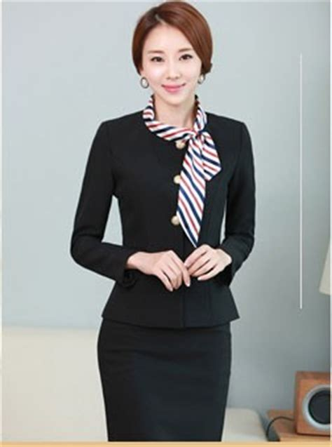 Free Sample Best Office Staff Uniform Designs For Women