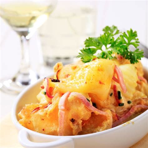 tartiflette cuisine az recette tartiflette savoyarde