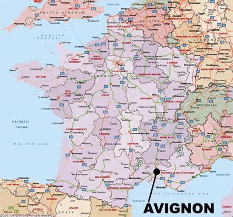 map of avignon journey of an obsession avignon