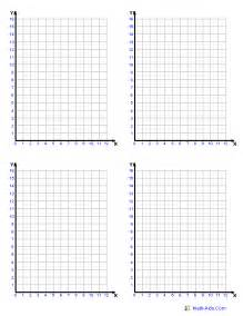 coordinate plane template graph paper printable math graph paper