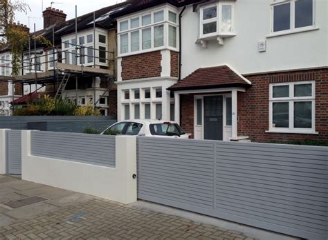 garden walls and gates front boundary wall screen automated electronic gate