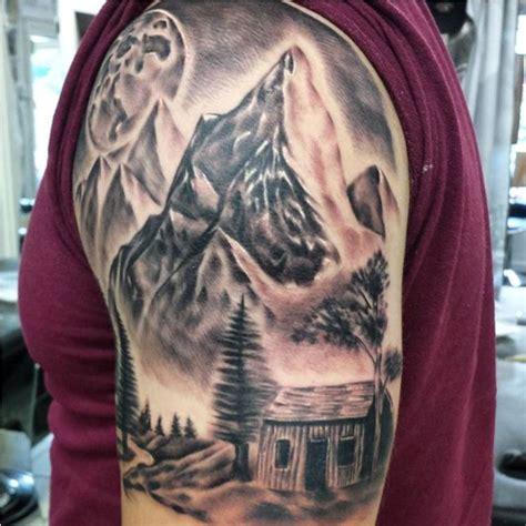 mountain tattoo sleeve 50 mountain tattoos tattoofanblog