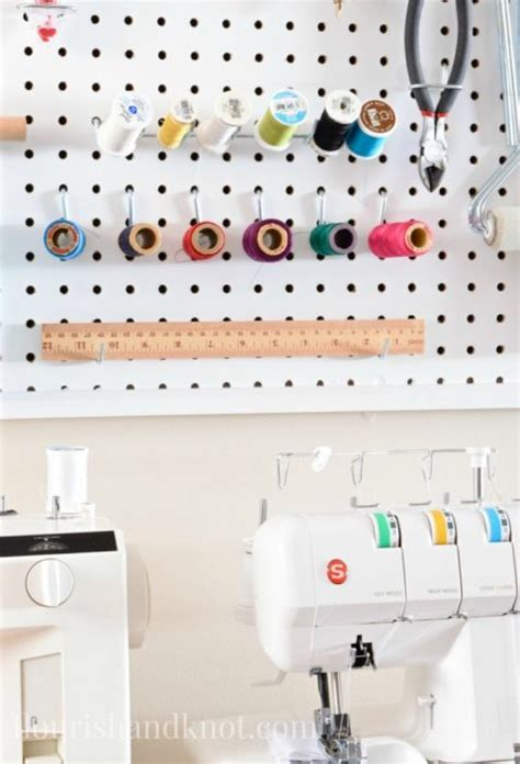 100 pegboard kitchen ideas pegboard craft room craft sewing space reveal diy home decor 100 room