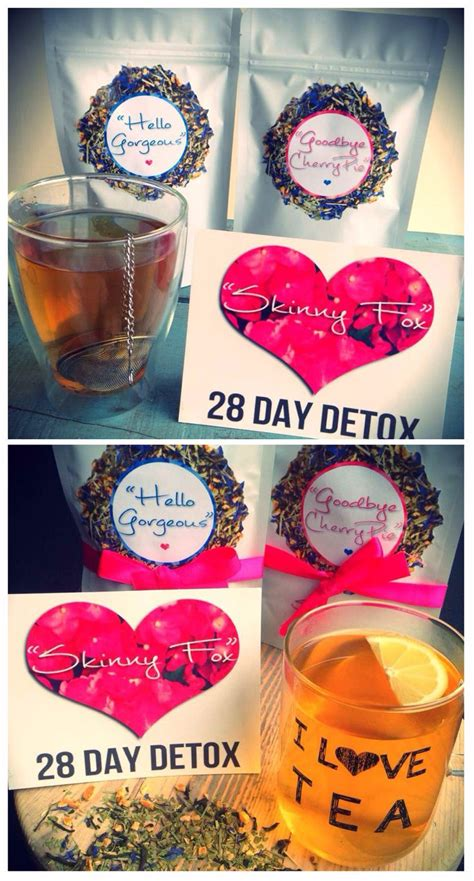 Fox Detox Diet by Fox Detox Tea Package Ready To Detox Gettin
