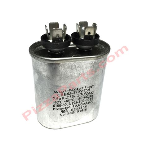 replacement of capacitor lincoln 369192 replacement oval motor run capacitor