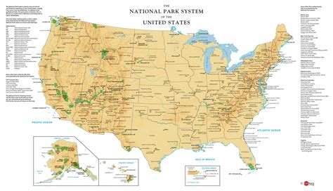 us national parks map map of us national parks bwzesa 001