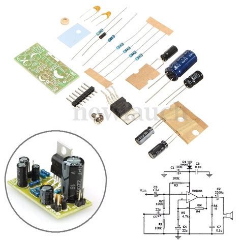 Power Lifier Kit Ic Tda tda2030 power lifier for subwoofer diy kits