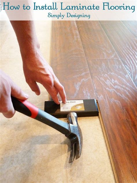 Diy Hardwood Floor Installation Best 25 Installing Laminate Flooring Ideas On Pinterest Laying Laminate Flooring Laminate