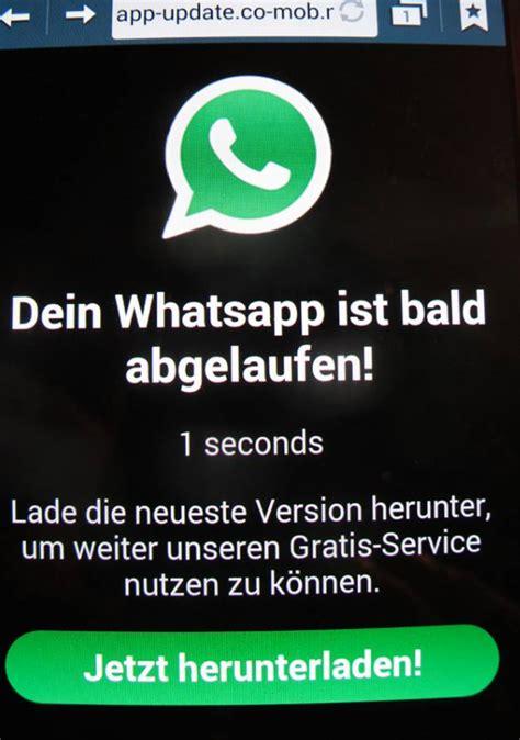 Musterbrief Abofalle Verbraucherzentrale Whatsapp Abofalle Abzocke Mit Teuren Abos Dein Whatsapp Ist Bald Abgelaufen Mimikama