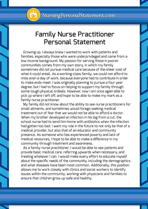 Practitioner Essay by Family Practitioner Personal Statement Sle Bag The Web