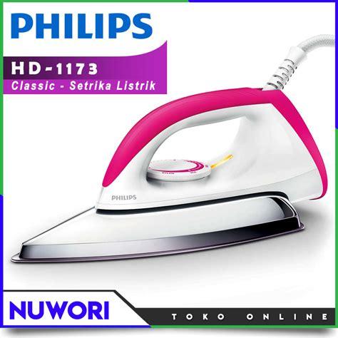 setrika philips hd 1173 iron gosokan listrik nuwori