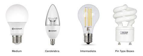 types of light bulbs the home depot