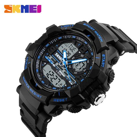 Jam Tangan Ripcurl Colorado Black Blue skmei jam tangan analog digital pria ad1164 black blue jakartanotebook