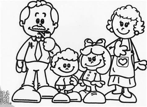 juegos de familia para colorear imprimir y pintar pintando bonitos dibujos del d 237 a de la familia colorear