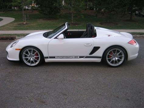 airbag deployment 2011 porsche boxster auto manual buy used 2011 porsche boxster spyder in new york new york united states for us 53 800 00
