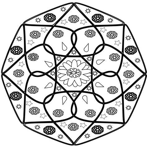mandala coloring pages vector 187 mandala black white line flag scalable vector
