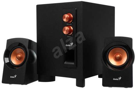 Genius Sw 2 1 360 Speaker genius sw 2 1 360 black gold speakers alzashop