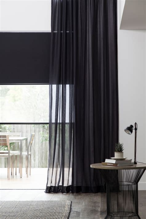 blinds with sheer curtains window coverings that complete your home